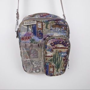 PIONEER EXPRESS | Route 66 travel crossbody bag
